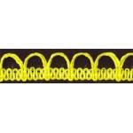 Тесьма отделочная арт.UU цв.109 желтый