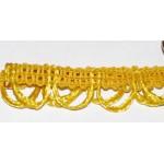 Тесьма отделочная арт.UU цв.122 желтый