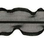 Тесьма рюш арт.TBY CS-10 2-стор. шир.80мм цв.черный уп.13.71м