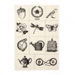 Тканевые стикеры арт.CS-002