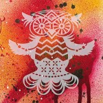 Трафарет-силуэт Marabu арт.28700006 цв.006 cова 15*15 см