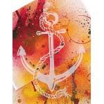 Трафарет-силуэт Marabu арт.28800002 цв.002 якорь A4 см