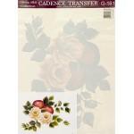 Трансфер универсальный арт.G-161 Розы с яблоками 17х25 см
