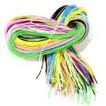 Трубочки для плетения СКУБИДУ цветные 1мх100
