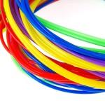 Трубочки для плетения СКУБИДУ цветные 1мх25