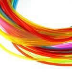 Трубочки для плетения СКУБИДУ цветные прозрачные 1мх25