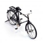 Велосипед арт.КЛ21383 коллекционный 23*14см цв.черный