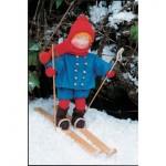 WIT.A15500 Набор для изготовления вальдорфской куклы DE WITTE ENGEL Маленький лыжник h=19см