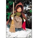 WIT.A17500 Набор для изготовления вальдорфской куклы DE WITTE ENGEL Девушка Тауветтер h=22см