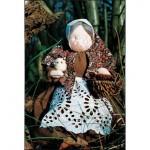 WIT.A17600 Набор для изготовления вальдорфской куклы DE WITTE ENGEL Бабушка h=26см