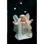 WIT.A20200 Набор для изготовления вальдорфской куклы DE WITTE ENGEL Ангел передающий весть h=12см