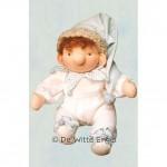 WIT.A21600 Набор для изготовления вальдорфской куклы DE WITTE ENGEL Зимний карлик Нос h=17см
