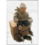 WIT.A22200 Набор для изготовления вальдорфской куклы DE WITTE ENGEL Маленький фигурист h=12см