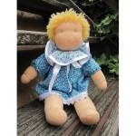 WIT.A37700 Набор для изготовления вальдорфской куклы DE WITTE ENGEL Мой друг Лена h=30см