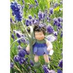 WIT.A41700 Набор для изготовления вальдорфской куклы DE WITTE ENGEL Лаванда h=12см