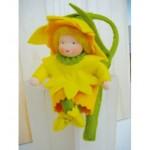 WIT.A44300 Набор для изготовления вальдорфской куклы DE WITTE ENGEL Нарцисс h=12см