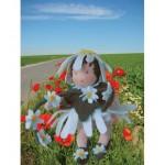 WIT.A44400 Набор для изготовления вальдорфской куклы DE WITTE ENGEL Маргаритка h=12см