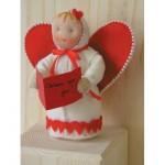 WIT.A44700 Набор для изготовления вальдорфской куклы DE WITTE ENGEL Сентиментальное сердце h=12см