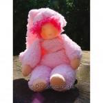WIT.A49500 Набор для изготовления вальдорфской куклы DE WITTE ENGEL Пупс в розовом h=23см