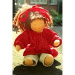 WIT.A52500 Набор для изготовления вальдорфской куклы DE WITTE ENGEL Тэсса h=30см