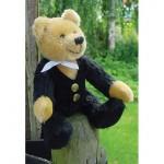 WIT.A52700 Набор для изготовления вальдорфской игрушки DE WITTE ENGEL Господин Медведь h=17см
