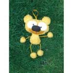 WIT.A59100 Набор для изготовления вальдорфской игрушки DE WITTE ENGEL Мишка (подвеска) h=20см
