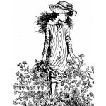 Штамп полимерный La Blanche 11,5*9 см Wandering among daisies LB1205