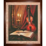Набор для вышивания 'Юнона' арт.0702 'Соло для скрипки' 28х34см