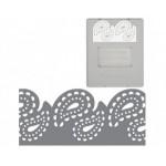 Дырокол фигурный для края Большой AdvantEdge (сменный картридж): Пейсли Fiskars 0176F