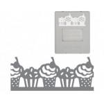 Дырокол фигурный для края Большой AdvantEdge (сменный картридж): Кексы Fiskars 0174F