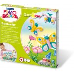 "FIMO kids farm&play ""Бабочка"", набор состоящий из 4-х блоков по 42 гр., уровень сложности 1,  8034 10 LZ"