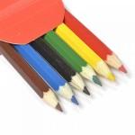 Набор шестигранных карандашей арт.НП.3741066 'Цветик' 2М-4М заточенные 6 цветов