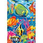 Набор 'Колор Кит' картина со стразами арт.КК.CK007 Подводный мир 40х50