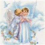 Набор для вышивания DIMENSIONS арт.DMS-35134 Angel Kisses - Поцелуи ангела