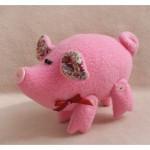 Набор для изготовления текстильной куклы арт.P001 'Pig's Story' 12см Ваниль