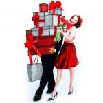 Набор для вышивания хрустальными бусинами ОБРАЗА В КАМЕНЬЯХ арт. 5514 Женское счастье