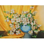 Набор для вышивания Габардин +бисер МП Студия арт БГ-237 Кизил 28*35