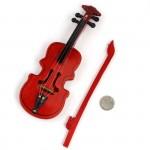 Скрипка 2487378 бол.со смычком арт.КЛ.21162 в коробочке, дерев. 60х180мм 1шт.