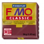 FIMO Classic Bordeaux Red полимерная глина, запекаемая в печке, уп. 56 гр. цвет: бордо 8000-23