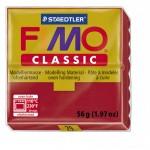 FIMO Classic Carmine Red полимерная глина, запекаемая в печке, уп. 56 гр. цвет: пунцовый 8000-29