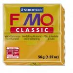 FIMO Classic Ochre полимерная глина, запекаемая в печке, уп. 56 гр. цвет: охра 8000-17