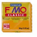 FIMO Classic Orange полимерная глина, запекаемая в печке, уп. 56 гр. цвет: оранжевый 8000-4