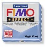 FIMO Effect Double Agate Blue полимерная глина, запекаемая в печке, уп. 56 гр. цвет: голубой агат 8020-386