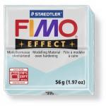 FIMO Effect Double Ice Crystal Blue полимерная глина, запекаемая в печке, уп. 56 гр. цвет: голубой ледяной кварц 8020-306
