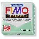 FIMO Effect Double Jade Green полимерная глина, запекаемая в печке, уп. 56 гр. цвет: зеленый нефрит 8020-506