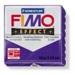 FIMO Effect Glitter Lilac полимерная глина, запекаемая в печке, уп. 56 гр. цвет: фиолетовый с блестками 8020-602