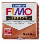 FIMO Effect Metallic Copper полимерная глина, запекаемая в печке, уп. 56 гр. цвет: медный 8020-27