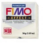 FIMO Effect Metallic mother-of-pearl полимерная глина, запекаемая в печке, уп. 56 гр. цвет: перламутровый метллик 8020-08