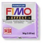 FIMO Effect Pastel Lilac полимерная глина, запекаемая в печке, уп. 56 гр. цвет: пастельно-лиловый 8020-605