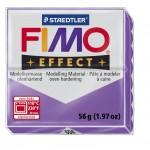FIMO Effect Translucent Рurple полимерная глина, запекаемая в печке, уп. 56 гр. цвет: полупрозрачный фиолетовый 8020-604